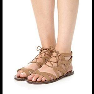 Sam Edelman Gemma Gladiator Suede Sandals